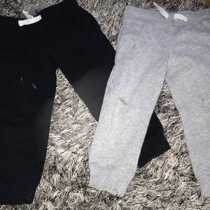 H&M sweats bundle paint stains see pics 2-3 years.